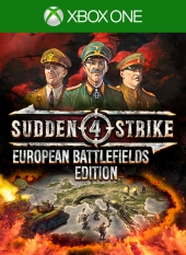Portada de Sudden Strike 4: European Battlefields Edition