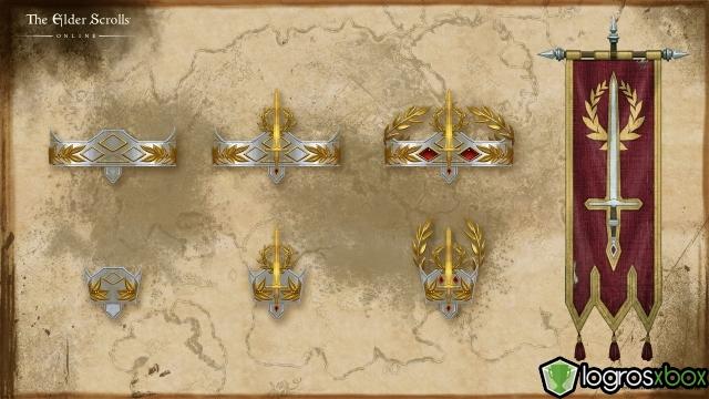 Die Lorbeerkränze der Sieger gehen auf die einstigen kaiserlichen Anführer zurück.