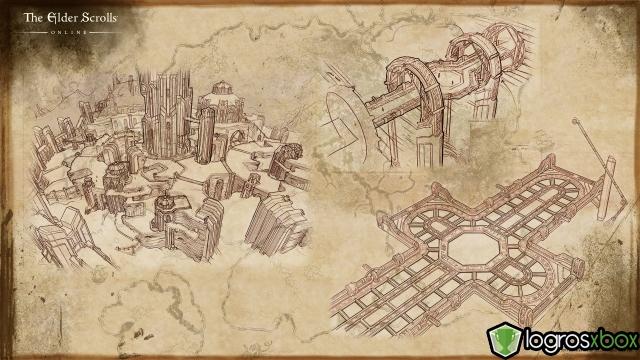 Die Stadt der Uhrwerke ist detailliert von Sotha Sil geplant und von Aposteln überwacht.