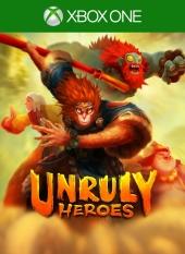 Portada de Unruly Heroes