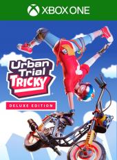 Portada de Urban Trial Tricky Deluxe Edition