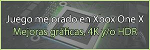 Lista de juegos mejorados Xbox One X enhanced