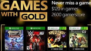 Leer noticia Warriors Orochi 3 Ultimate, WWE 2K16, Spelunky y Beyond Good & Evil HD Games With Gold agosto 2016 completa
