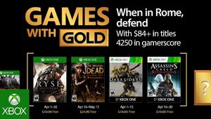 Leer noticia Ryse: Son of Rome, The Walking Dead: Season two, Darksiders y Assassin's Creed: Revelations Games With Gold abril 2017 completa