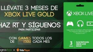 Leer noticia 3 meses de Xbox Live Gold gratis. Concurso del 9 de julio gracias a Vidaplayer completa