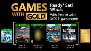 Leer noticia Forza Motorsport 5, Oxenfree, Hydro Thunder Hurricane y Battlefield 3 Games With Gold septiembre 2017 completa
