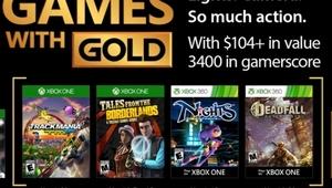 Leer noticia Trackmania Turbo, Tales from the Borderlands, Deadfall Adventures y NiGHTS into dreams... Games With Gold noviembre 2017 completa