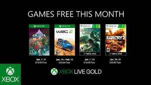 Leer noticia Celeste, WRC 6 FIA World Rally Championship, Lara Croft and the Guardian of Light y Far Cry 2 Games With Gold enero 2019 completa